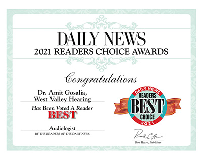 Daily News 2021 Readers Choice_Best Audiologist